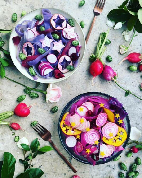 «Лапша единорога» - новый кулинарный тренд в сети (22 фото)