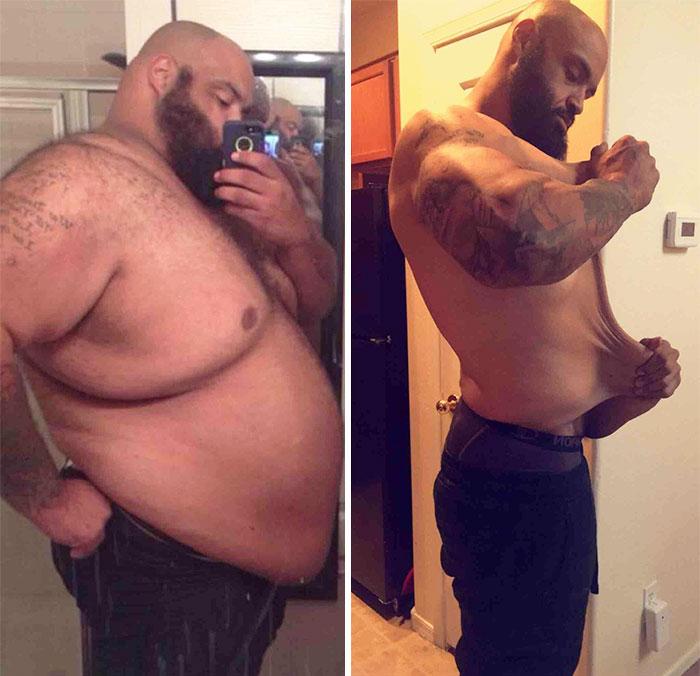 Люди, поборовшие лишний вес (35 фото)