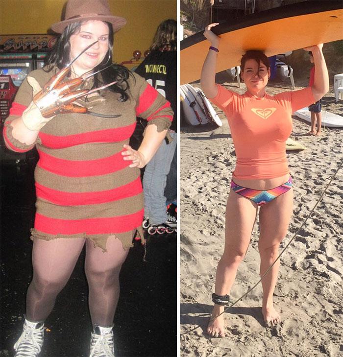 Фото людей которые сбросили вес