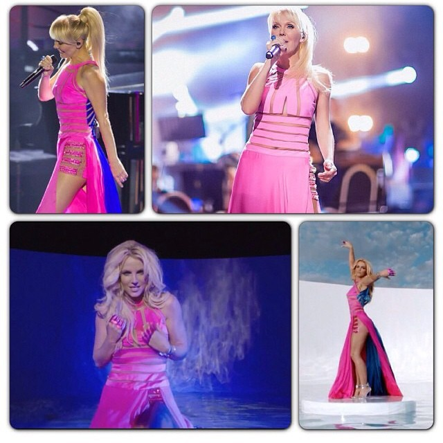 Бритни Спирс не везёт в выборе нарядов (6 фото)