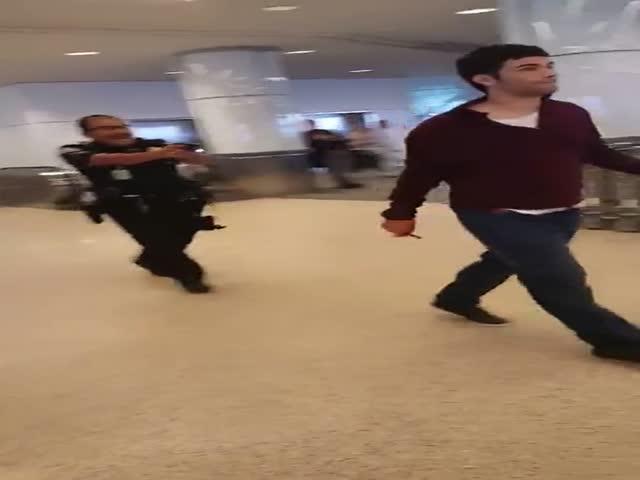 Что бывает, когда игнорируешь требования сотрудников безопасности аэропорта