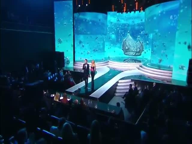 Нюша поет без фонограммы на конкурсе «Мисс Россия - 2017»