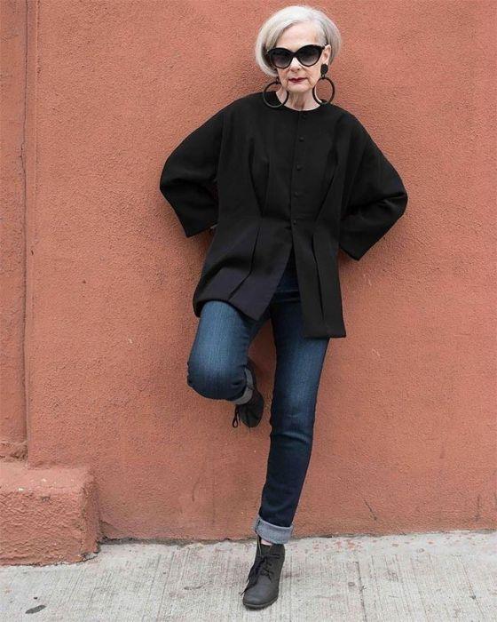 63-летняя модница Лин Слейтер, случайно ставшая иконой стиля (20 фото)