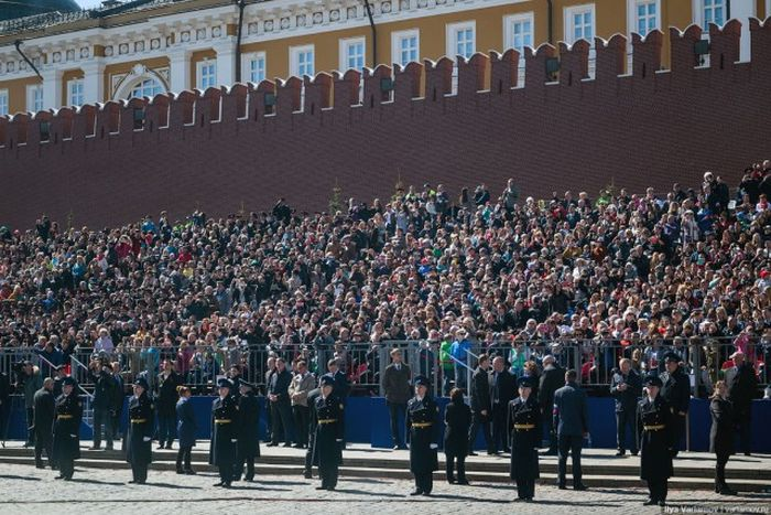 Генеральная репетиция парада Победы (53 фото)