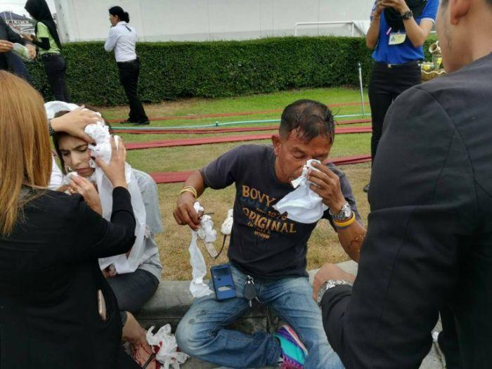 Теракт в торговом центре на острове Паттани в Таиланде (15 фото + 3 видео)