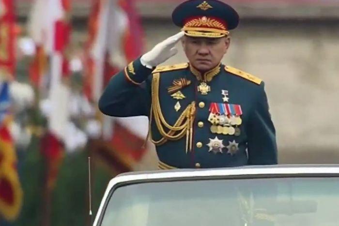 Парад Победы 9 мая 2017 года в Москве