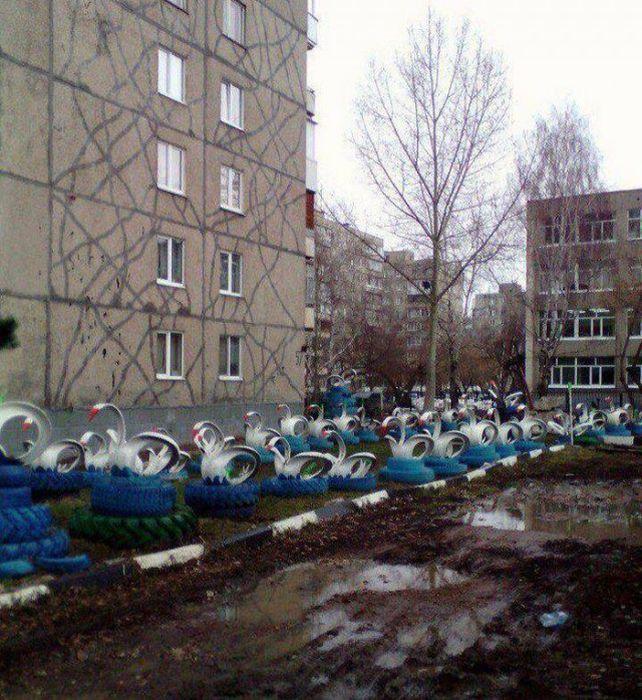 Фото, которые возможно было сделать только в России. Часть 68 (38 фото)