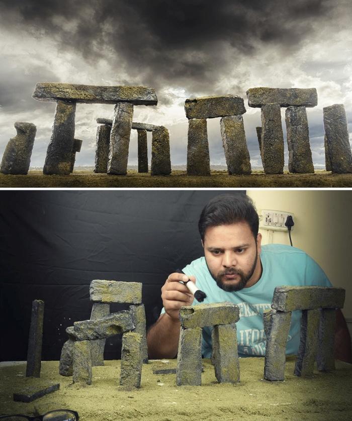 Впечатляющие снимки Вацала Катарии, сделанные с помощью самодельных макетов (9 фото)