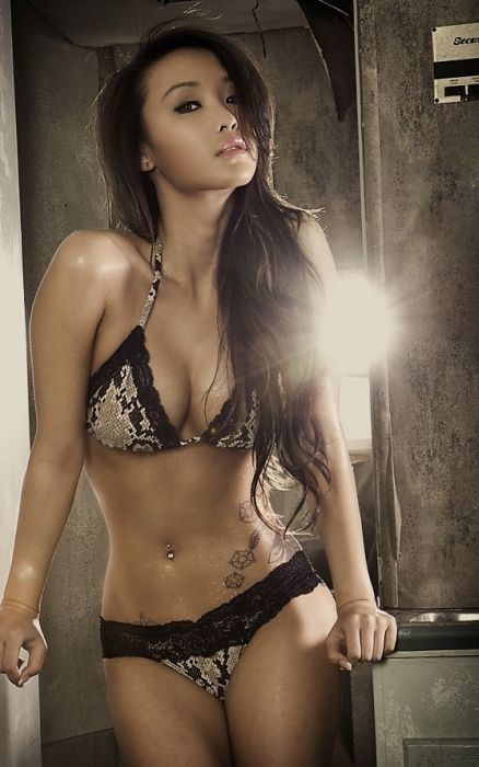 Красивые и соблазнительные азиатские девушки (100 фото)