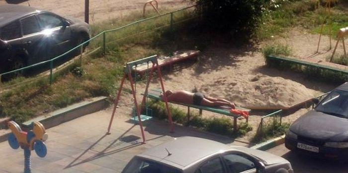 Подборка летних шуток (34 фото)