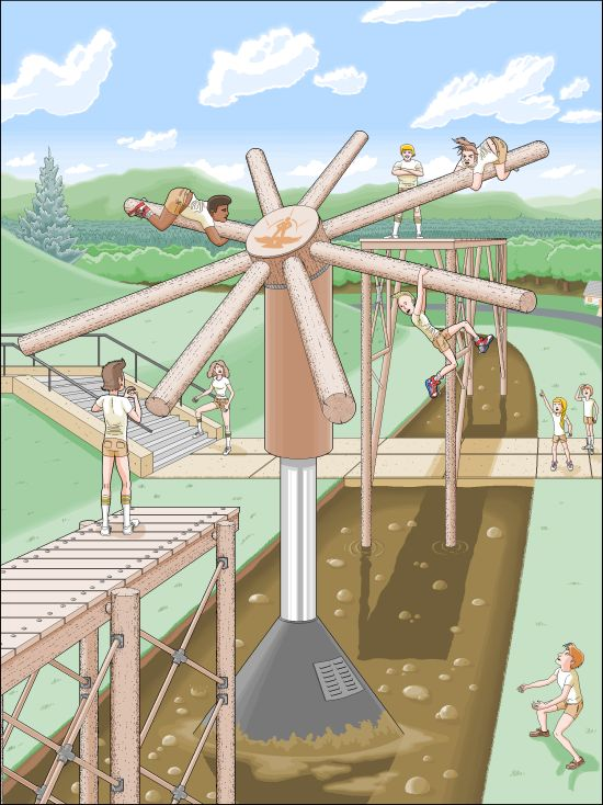 Писатель Пэт Хайнс в течение 10 лет рисовал иллюстрации для своей книги в Microsoft Paint (9 рисунков)