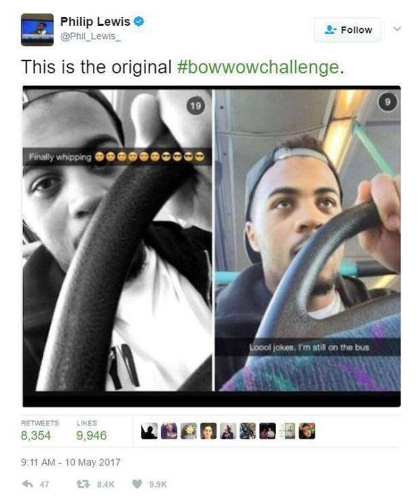 В сети запустили челлендж #BowWowChallenge, чтобы потроллить рэпера Bow Wow (15 фото)