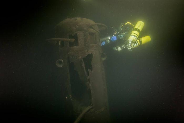 В Финском заливе обнаружена пропавшая без вести советская подводная лодка Щ-406 (7 фото)