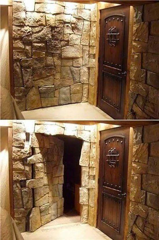Потайные комнаты и прочие секретные помещения (24 фото)
