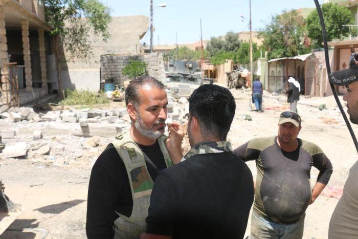 Экшн-камера спасла жизнь иракскому оператору Аммару Алваели (3 фото + видео)