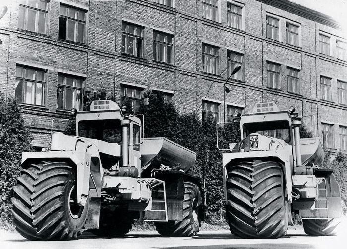 Трехколесная сельскохозяйственная машина МВУ-30 (4 фото)
