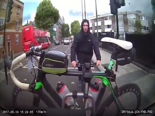 Неудачная попытка кражи велосипеда