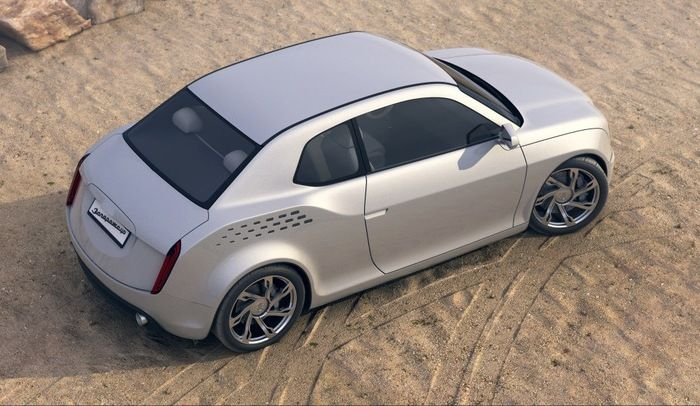 Концептуальная модель нового «Запорожца» от молодого дизайнера (6 фото)