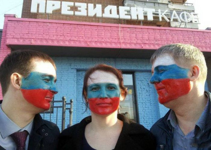 Снимки, которые можно было сделать только в России (48 фото)