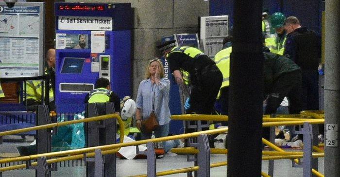 Теракт в Манчестере на концерте певицы Арианы Гранде