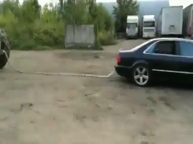 Издевательство над Audi A8