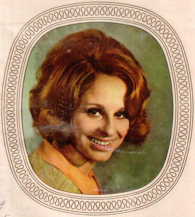 Переводные картинки с девушками из ГДР (26 фото)