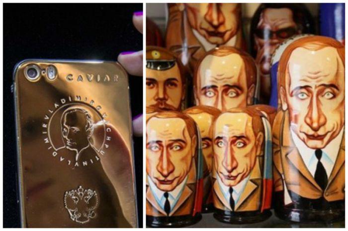 Сувениры с Владимиром Путиным (18 фото)