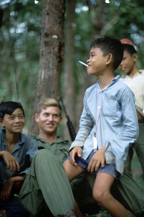 Ранее не публиковавшиеся фото войны во Вьетнаме (28 фото)