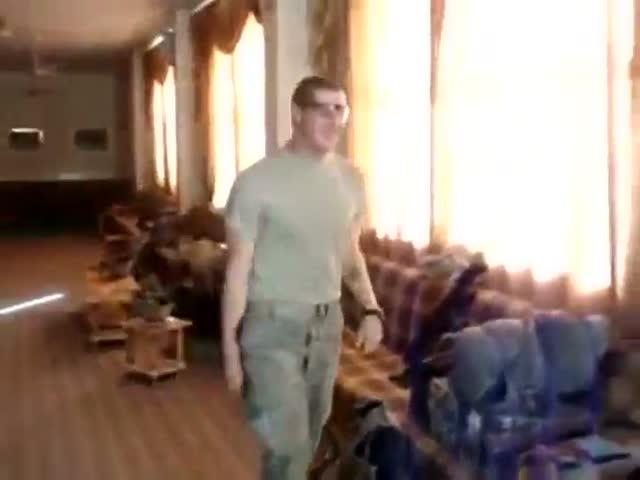 Суровый солдатский розыгрыш