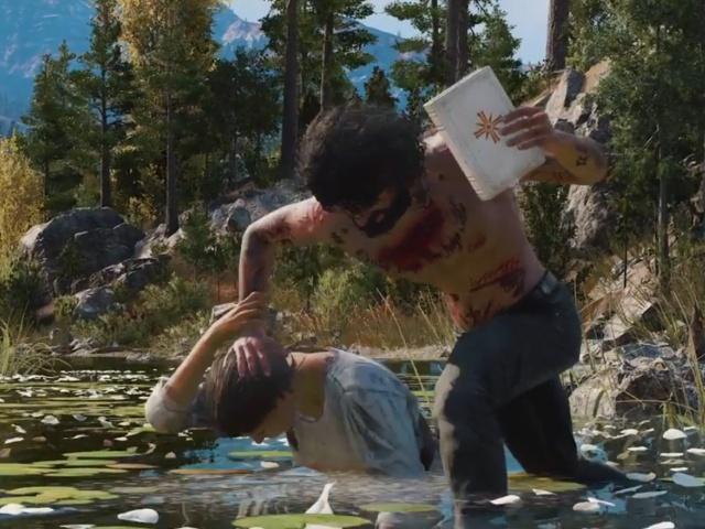 Ubisoft анонсировала шутер Far Cry 5