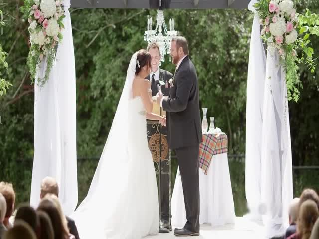 Пчела прервала свадебную клятву