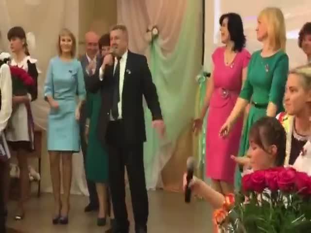 Учителя исполнили прощальный рэп для выпускников