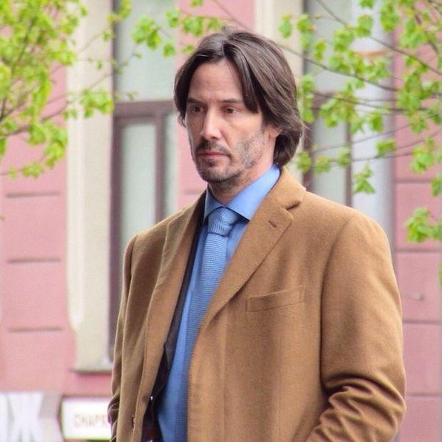 Киану Ривз прибыл в Санкт-Петербург для съемок в фильме «Сибирь» (6 фото)