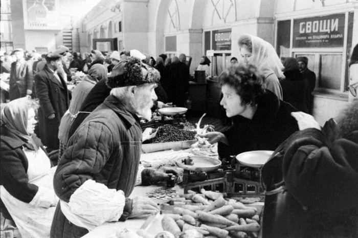 Рынки Советского Союза (26 фото)
