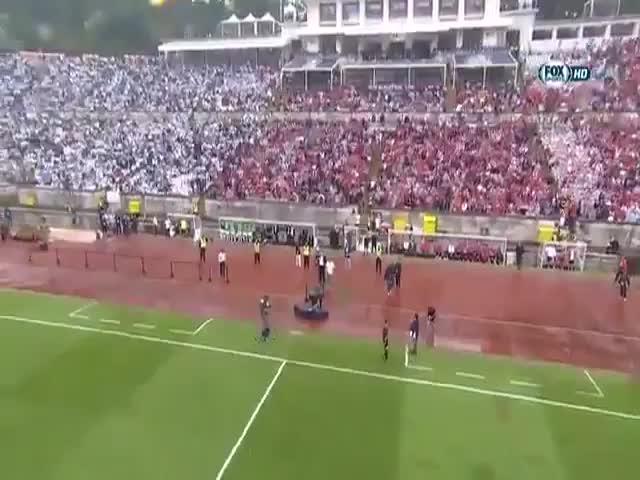 Человек на финальном матче Кубка Португалии