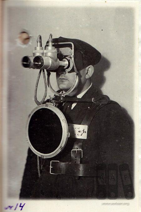 Первые советские приборы ночного видения (4 фото)