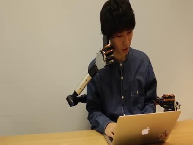 Японцы создали роботизированные руки