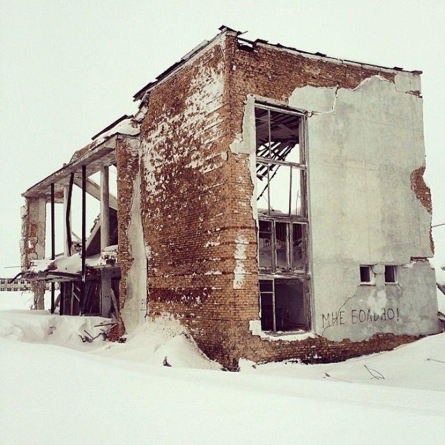 Заброшенный воркутинский поселок Хальмер-Ю (20 фото)