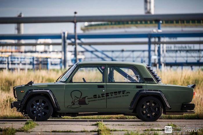 Автомобиль для дрифта на базе ВАЗ-2107 (7 фото)