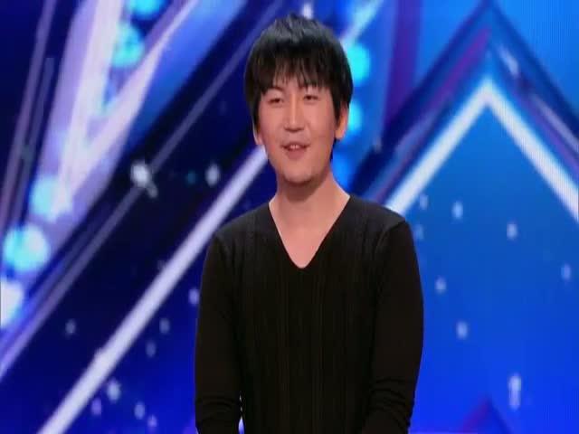 Уилл Тсай (Will Tsai) на шоу America´s Got Talent 2017