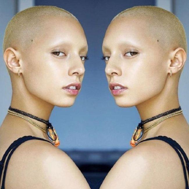 Модели с экзотической внешностью (24 фото)