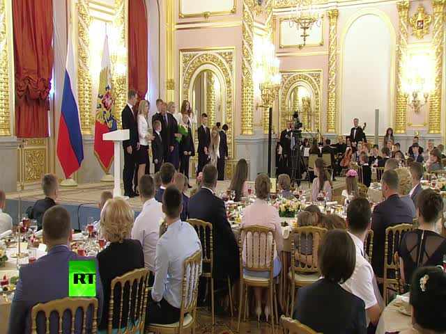 Владимир Путин пожалел ребенка