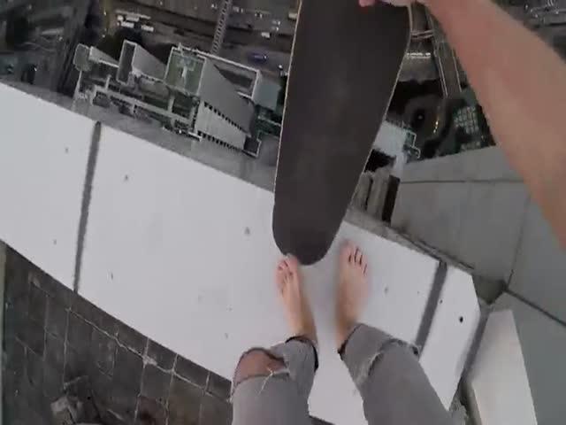 Экстремал, который не боится высоты