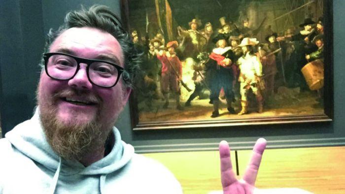 10-миллионный посетитель выставки переночевал в музее Рейксмюсеум в Амстердаме (4 фото)