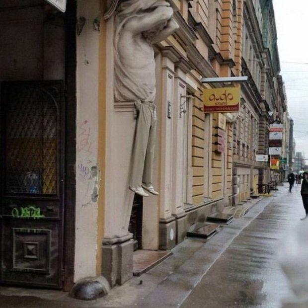 Фото, которые возможно было сделать только в России. Часть 71 (39 фото)