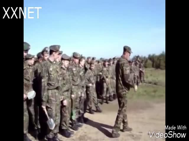 Типичные армейские будни