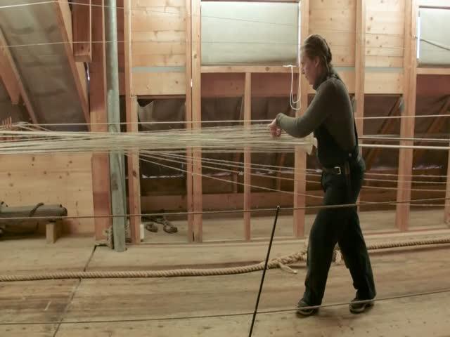 Плетение веревки