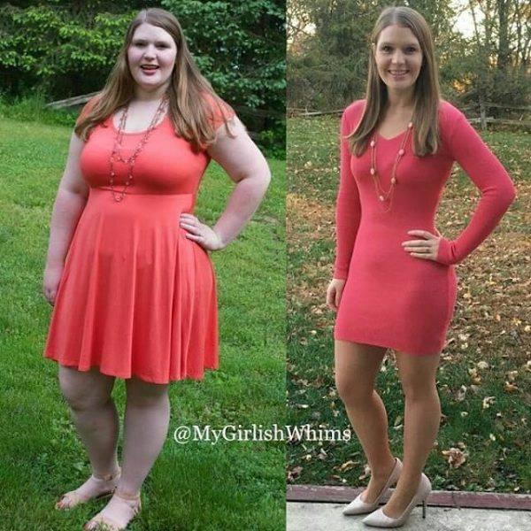 Люди, сумевшие побороть лишний вес (31 фото)