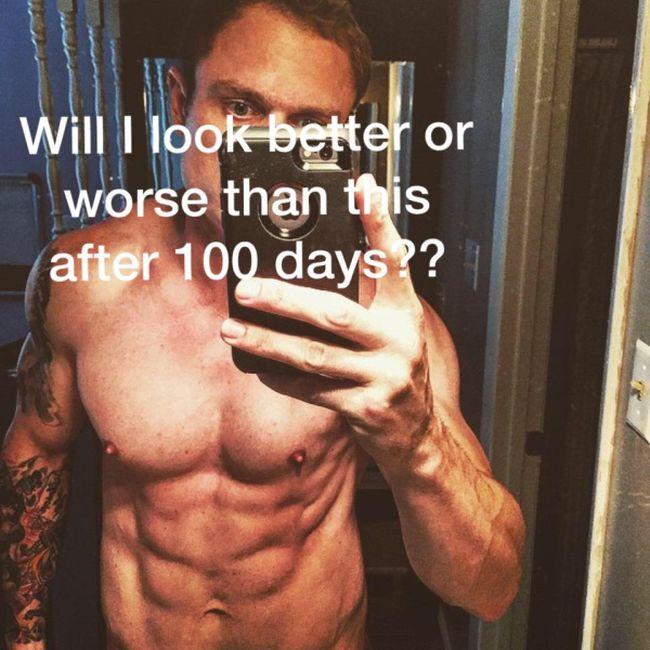 Фитнес-блогер Энтони Говард-Кроу похудел на 14,5 кг, употребляя мороженое и алкоголь (4 фото)