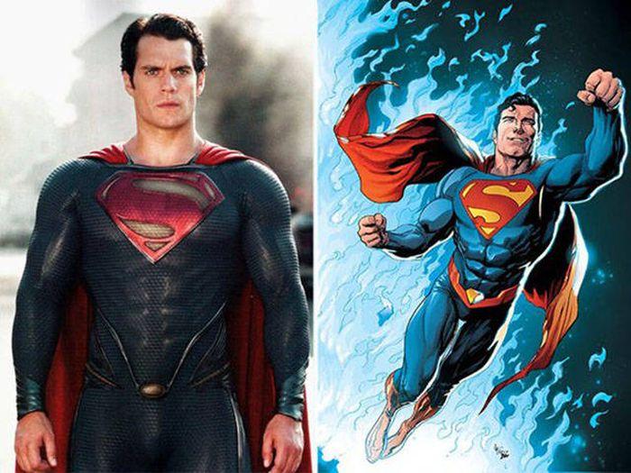 Супергерои и другие персонажи в фильмах и мультфильмах (30 фото)